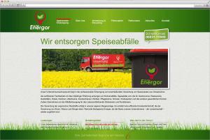 Internetauftritt für die Friedberger Firma Energor