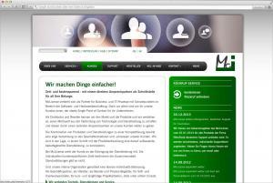 Websiteerstellung für die Offenbacher Firma McLicence