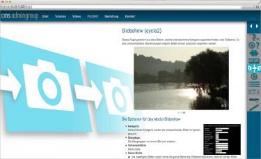 Internetauftritt für unser Content Management System (bsp_cmsadmingroup.jpg)