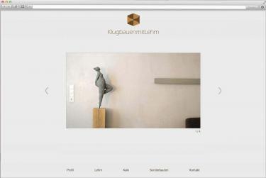 Internetauftritt für die Lehmbau-Firma KlugBauenMitLehm aus dem Main-Kinzig-Kreis (bsp_klugbauenmitlehm.jpg)