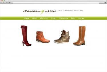 Homepageerstellung für Schuhgeschäft aus Frankfurt (bsp_venez-y-voir.jpg)